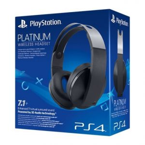 Headset Sony Wireless 7.1 Platinum PS4
