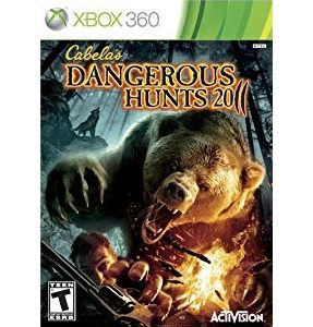 Cabelas Dangerous Hunts 2011 Xbox 360