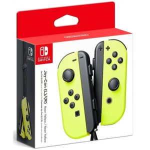 joy con neon yellow