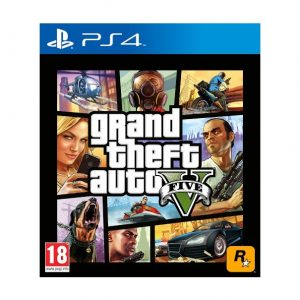 GTA 5 PS4 (seminovo)
