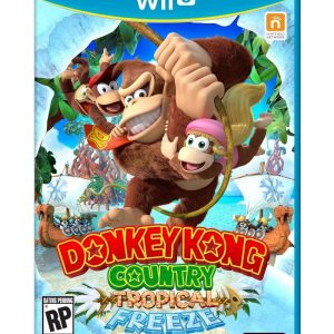 Donkey Kong Tropical Freeze Wii U (seminovo)