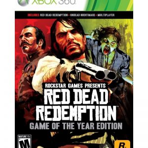 Red Dead Redemption Game of the Year Edition XBOX 360 (seminovo)