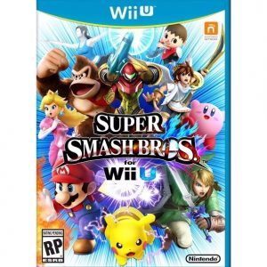 Super Smash Bros Wii U (seminovo)