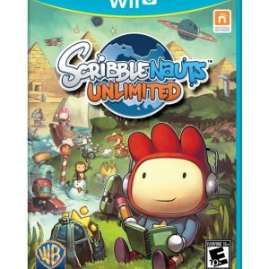 Scribblenauts Unlimited Wii U (seminovo)