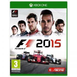 F1 2015 XBOX ONE (seminovo)
