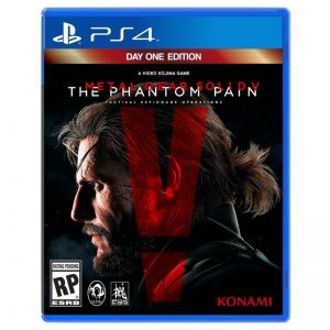 Metal Gear Solid 5 Phantom Pain PS4 (seminovo)