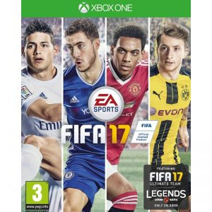 FIFA 17 XBOX One (seminovo)