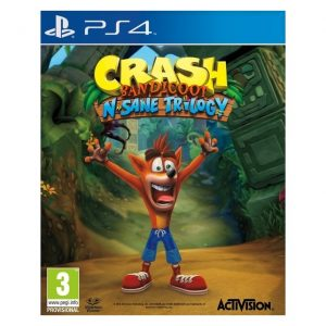 Crash Bandicoot N Sane Trilogy PS4 (seminovo)