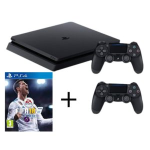ps4 2 controles fifa 18 borda