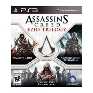 Assassin's Creed Ezio Trilogy PS3 (seminovo)